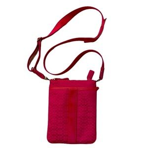 Coach Jacquard Mini Crossbody Bag